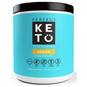 Keto Perform - Perfect Keto - Lemon - 316g - Ketogenic Supplies