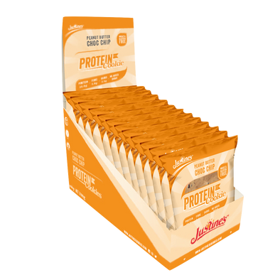 Justine's Protein Cookie - Peanut Butter Choc chip- Box of 12