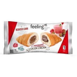 Reduced Carb Croissant -  Cocoa Cream - Feeling Ok 65g