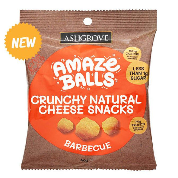 Ashgrove cheese Amazeballs - Keto Cheese Snacks - BBQ  40g