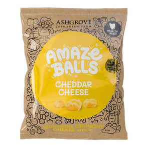 Amazeballs - Keto Cheese Snacks - Tasty Cheese 50g - Ketogenic Supplies