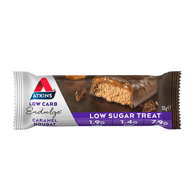 Atkins Keto Bar Atkins Indulge Bar - Caramel Nougat - 35g