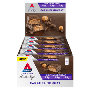 Atkins Keto Bar Atkins Indulge Bar - Caramel Nougat - Box of 15 - 525g