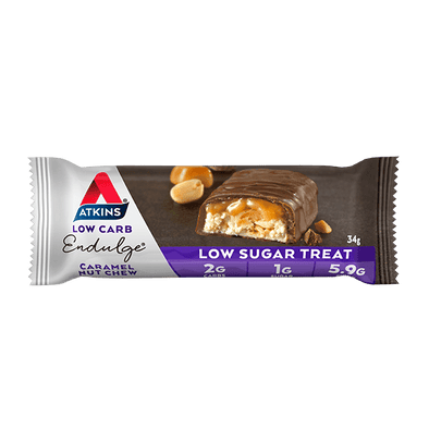 Atkins Keto Bar Atkins Indulge Bar - Caramel Nut Chew - 34g