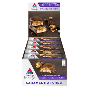 Atkins Keto Bar Atkins Indulge Bar - Caramel Nut Chew - Box of 15 - 510g