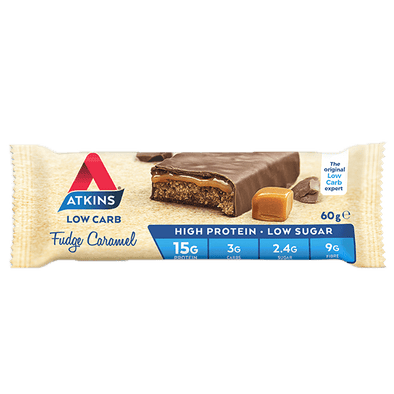 Atkins Keto Protein Bar Atkins Protein Bar - Fudge Caramel- 60g