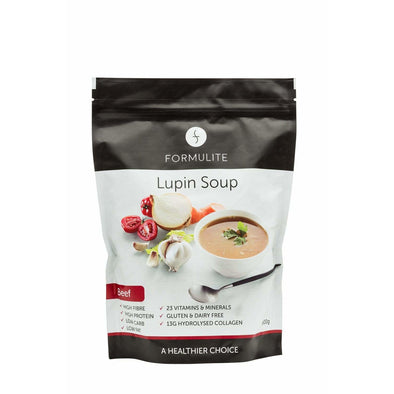 Keto Soup - Lupin - Beef - 500g Bag - Ketogenic Supplies