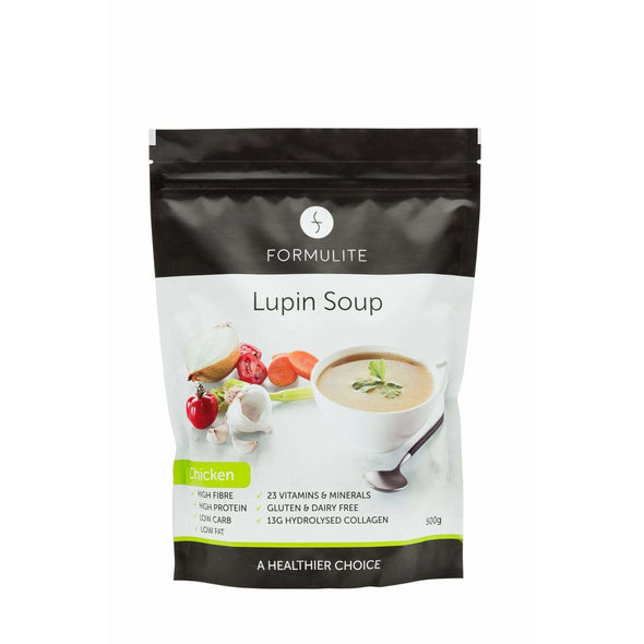 Keto Soup - Lupin - Chicken - 500g Bag - Ketogenic Supplies