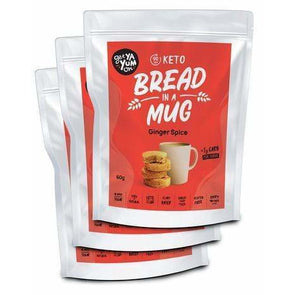 Get Ya Yum On Bread Bread in a Mug - Ginger Spice 3 Pack  - Get Ya Yum ON