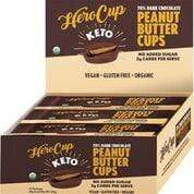 Keto Hero Cup - Peanut Butter - 70% Dark Choc -36g  12 PACK - Ketogenic Supplies