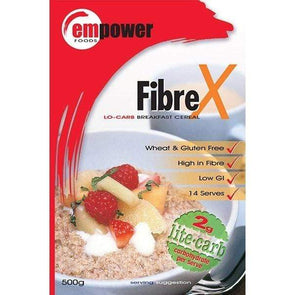 Fibre X Low Carb - Breakfast Cereal 500g - Ketogenic Supplies