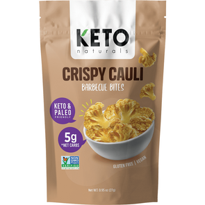 Crispy Cauli - BBQ Bites - 27g  Keto Naturals - Ketogenic Supplies
