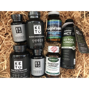 Keto Essential Supplements Pack - Save over 15% off RRP - Ketogenic Supplies