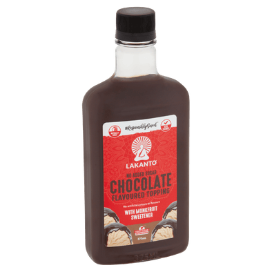 Lakanto chocolate topping Chocolate Flavoured Topping with Monkfruit - Lakanto - 375ml