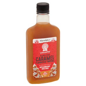 Lakanto Maple Syrup Caramel Flavoured Topping with Monkfruit - Lakanto - 375ml