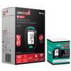 LifeSmart - Blood Ketone Tester - BlueTooth Model + 1 Box Ketone Strips - Ketogenic Supplies
