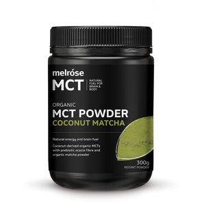 Melrose MCT Powder - Coconut Matcha - 300g - Ketogenic Supplies
