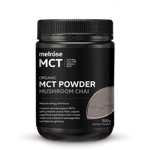 Melrose MCT Powder - Mushroom Chai - 300g - Ketogenic Supplies