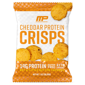Musclepharm Crisps Protein Cheese Crisps - Cheddar - MusclePharm - 28g