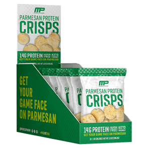 Musclepharm Crisps Protein Cheese Crisps - Parmesan - MusclePharm - Box of 12 - 336g