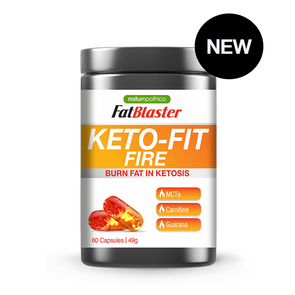 Keto Fit Fire - Naturopathica - 60 Caps - Ketogenic Supplies