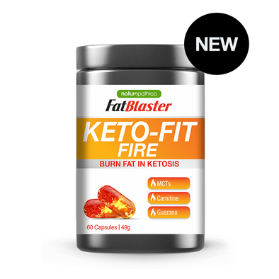 Naturopathica Metabolism Booster Keto Fit Fire - Naturopathica - 60 Caps
