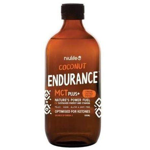 Coconut Endurance MCT Plus + Niulife 500ml - Ketogenic Supplies