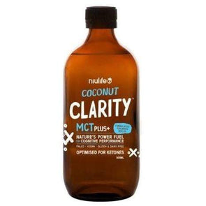 Coconut Clarity MCT Plus + Niulife 500ml - Ketogenic Supplies