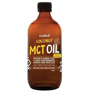 Coconut MCT Oil - Niulife 500ml - Ketogenic Supplies
