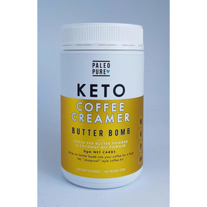 Keto Butter Bomb - Coffee Creamer - Paleo Pure 250g - Ketogenic Supplies