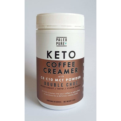 Keto Coffee Creamer - Double Choc - Paleo Pure - 250g - Ketogenic Supplies