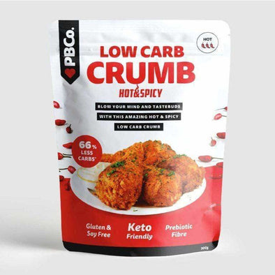 Low Carb Crumb - Hot & Spicy  - PBCo 300g - Ketogenic Supplies