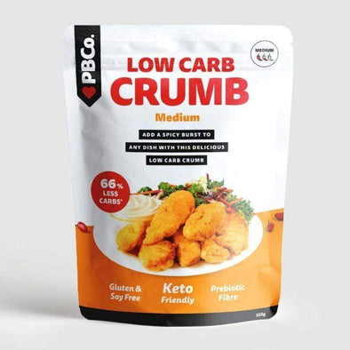 Low Carb Crumb - Medium Spice  - PBCo 300g - Ketogenic Supplies