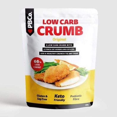 Low Carb Crumb - Original  - PBCo 300g - Ketogenic Supplies