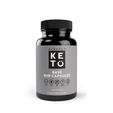 BHB Capsules - Perfect Keto - 60 Caps - Ketogenic Supplies