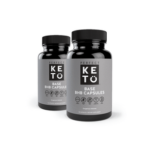 BHB Capsules - Perfect Keto - 60 Caps x 2 ON SALE - Ketogenic Supplies