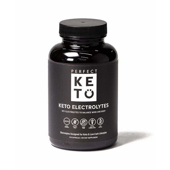 Keto Electrolytes - 120 Caps - Perfect Keto - Ketogenic Supplies
