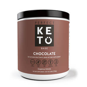 Perfect Keto  BHB Chocolate Sea Salt 192g - Ketogenic Supplies