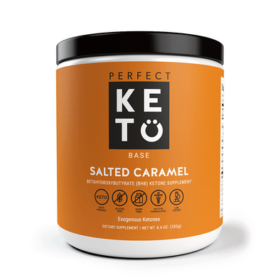 Perfect Keto Salted Caramel 182g - Ketogenic Supplies