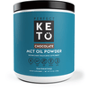 MCT Powder - Chocolate Flavoured  - Perfect Keto 378g - Ketogenic Supplies