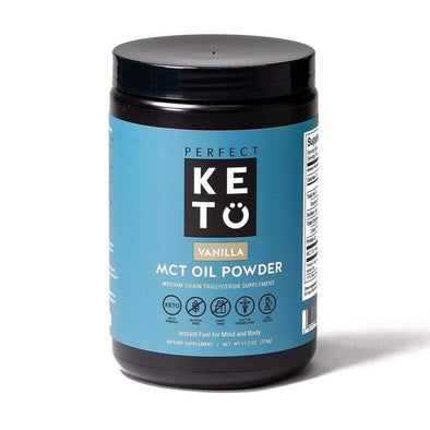 Perfect Keto MCT OIL MCT Powder - Perfect Keto - Vanilla - 320g