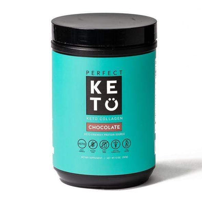 Keto Collagen Low Carb Protein with MCT - Chocolate 344g - Ketogenic Supplies