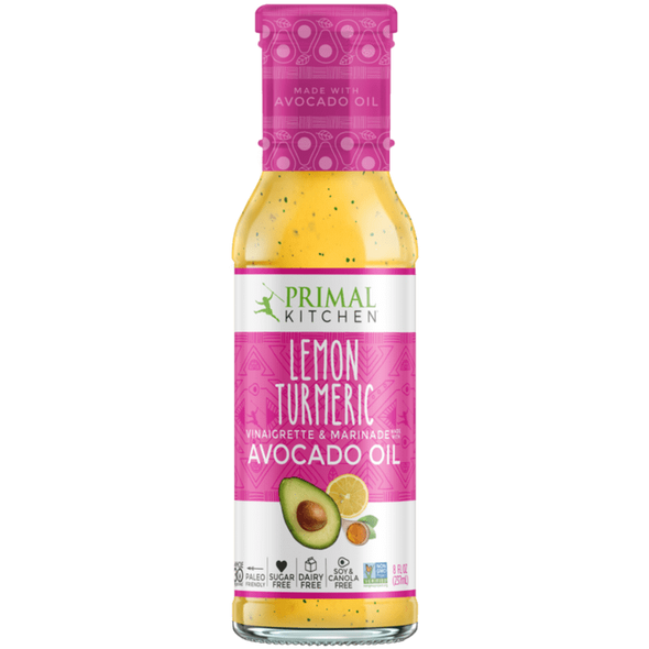 Lemon Tumeric Dressing - 237ml - Primal Kitchen - Ketogenic Supplies