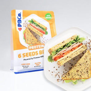 Seeded Protein Keto Bread Mix PB Co 350g - Ketogenic Supplies