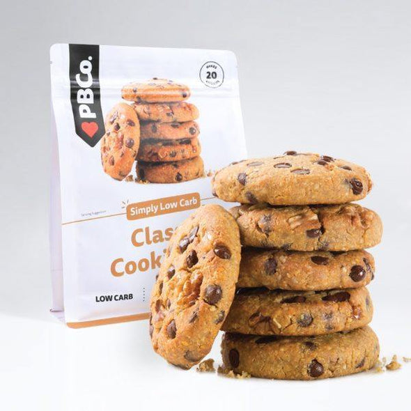 Classic Keto Cookie Mix - PB Co - 320g - Ketogenic Supplies