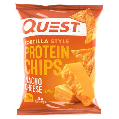 Quest Protein Chips  Nacho Cheese - 32g - Ketogenic Supplies