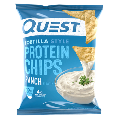 Quest Protein Chips  Ranch Flavour - 32g - Ketogenic Supplies