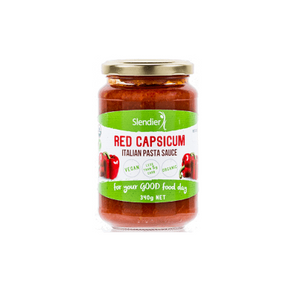 Keto Pasta Sauce - Red Capsicum - 340g - Ketogenic Supplies