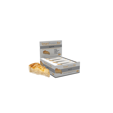 Smart Protein Bar - Apple Pie - Box of 12 - 720g - Ketogenic Supplies