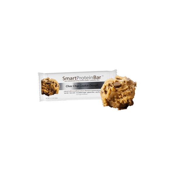 Smart Protein Bar - Choc Chip Cookie Dough - 60g - Ketogenic Supplies
